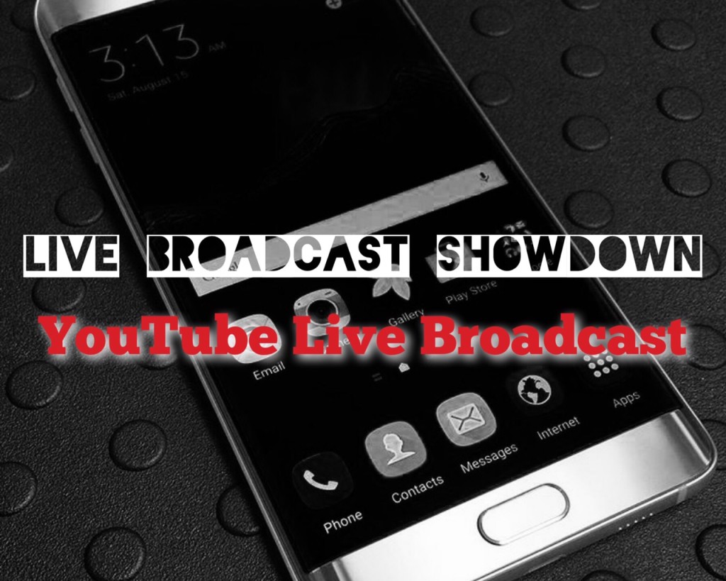 YouTube Live Broadcast