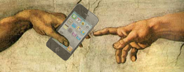 smartphones in church