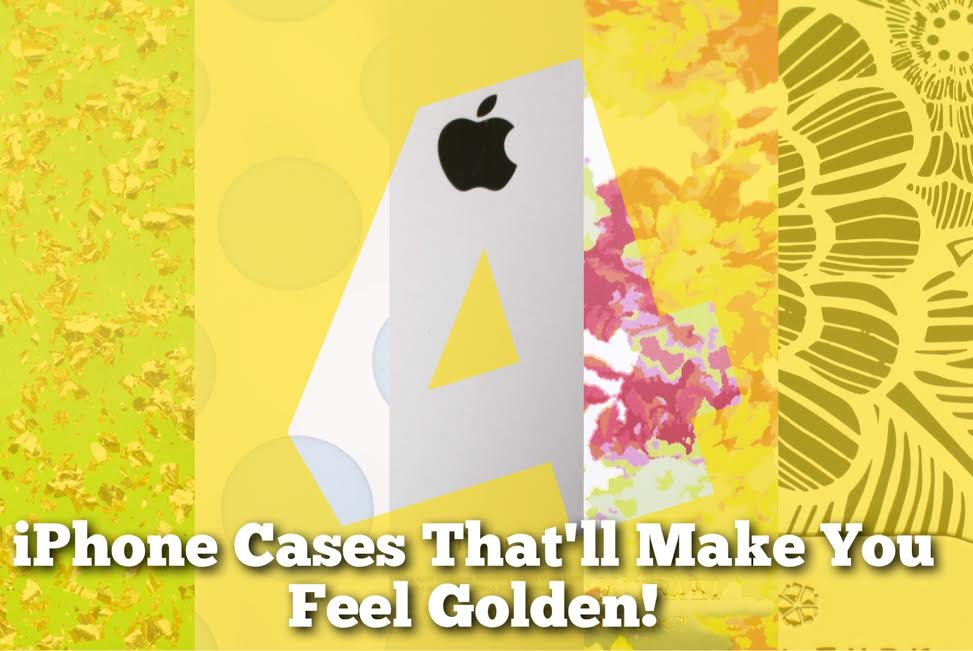 Gold iPhone Cases