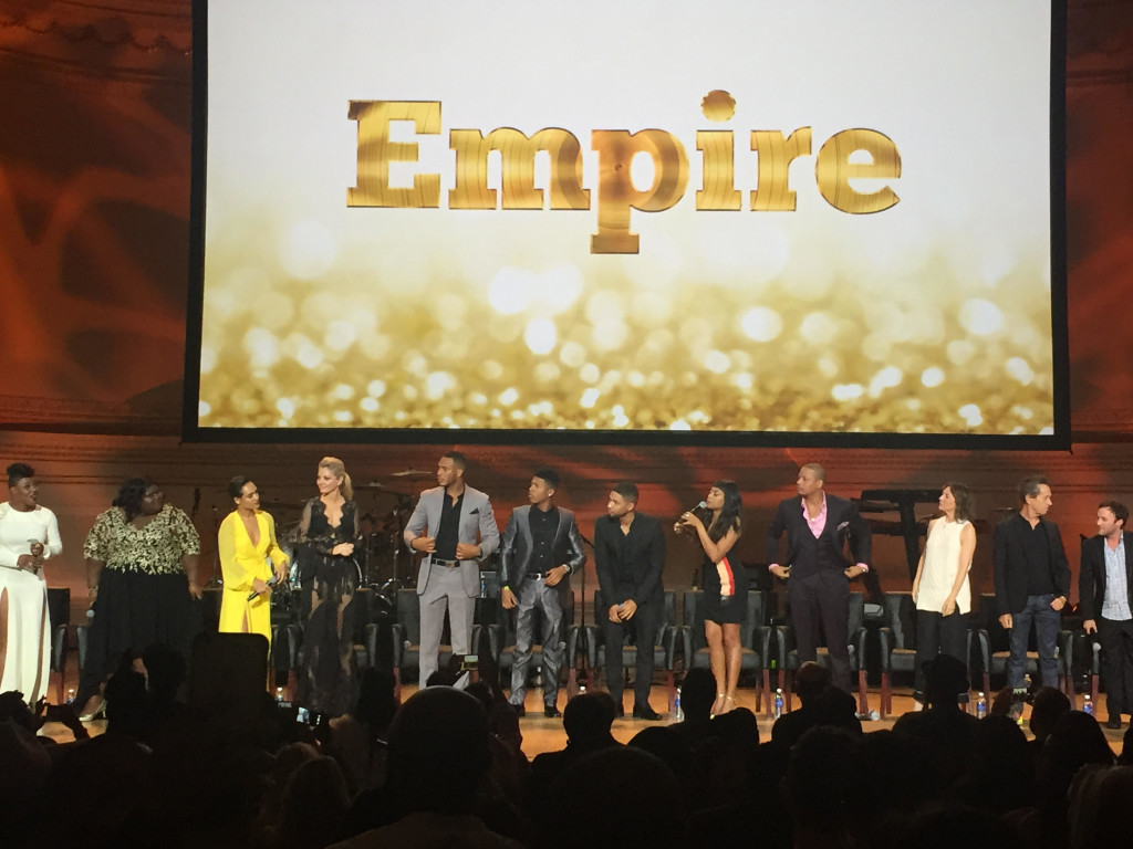 EMPIRE SEASON 2 NYCEMPIRE SEASON 2 NYC EMPIRE CAST