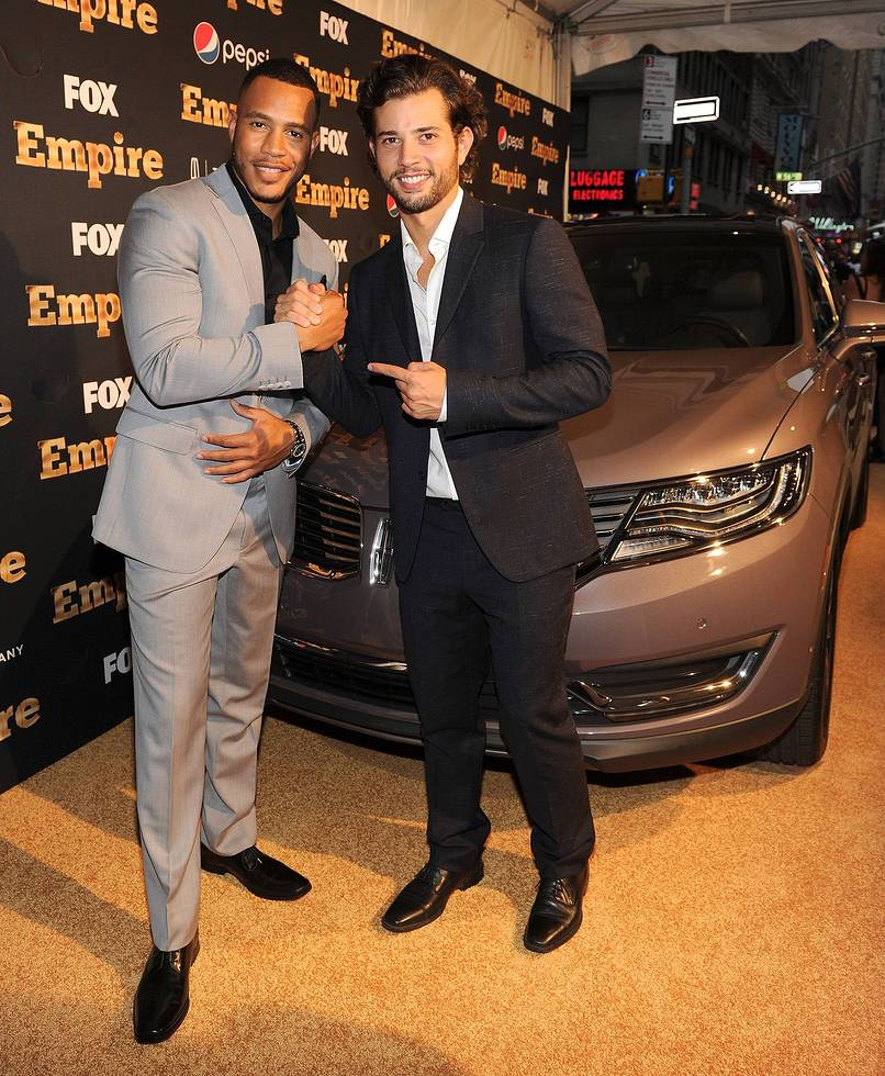 EMPIRE SEASON 2 NYC Trai Byers