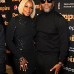 EMPIRE SEASON 2 NYC - Lee Daniels and Mary J Blige