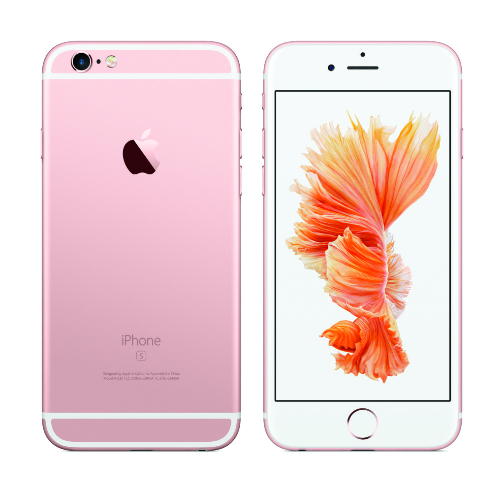 Rose Gold iPhone 6s copy