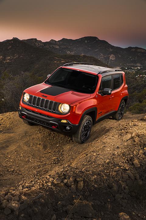 2016 2016 Jeep Renegade Trailhawk