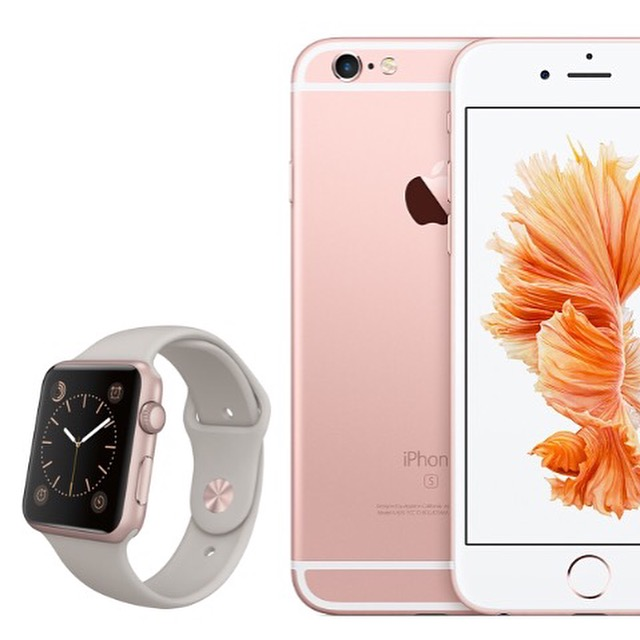 Rose Gold iPhone 6s instagram loop giveaway