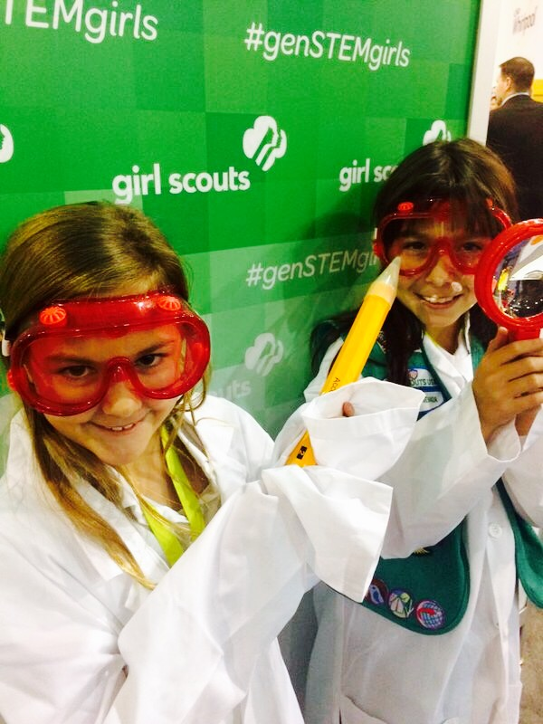 The Girl Scouts And STEM