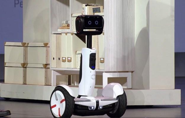 INTEL HOVERBOARD BUTLER ROBOT