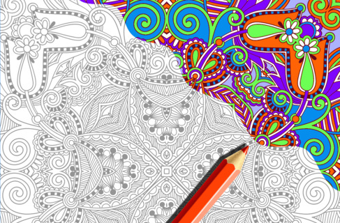 Divas And Dorks Adult Coloring Book Apps To Relax You Anywhere