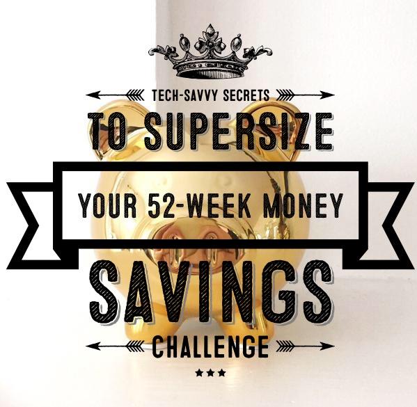 supersize 52-week money savings challenge