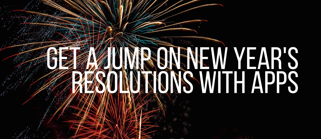 New Year resolutions apps