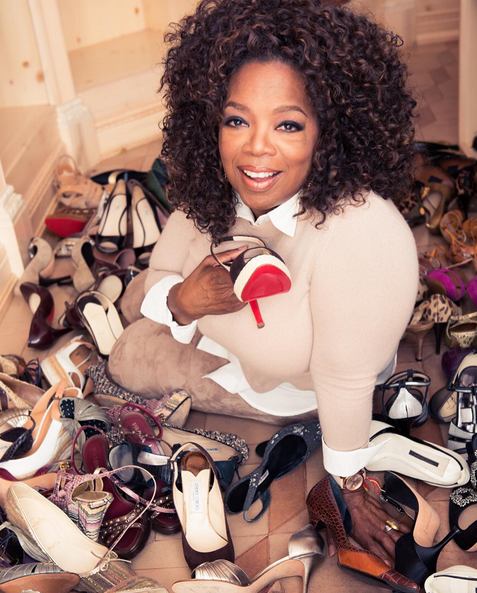 Oprah's Cleaning Out Her Closet And You Can Get First Dibs On Her Designer Duds On eBay!