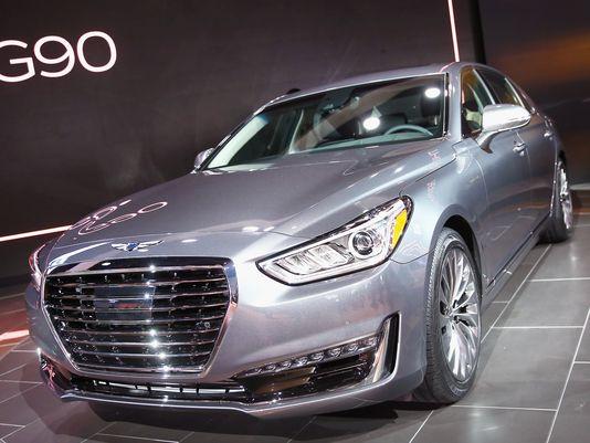 new york international auto show Genesis Motors