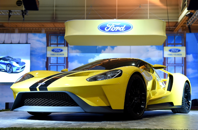 All-new Ford GT on display at 2016 ESSENCE Festival in New Orleans (PRNewsFoto/Ford Motor Company)
