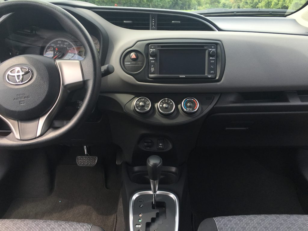Toyota Yaris safety