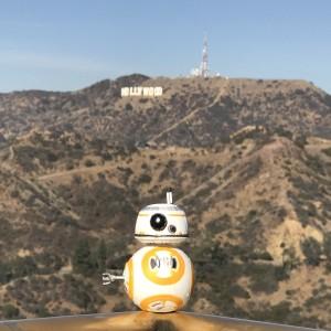 Star Wars BB-8 in Hollywood