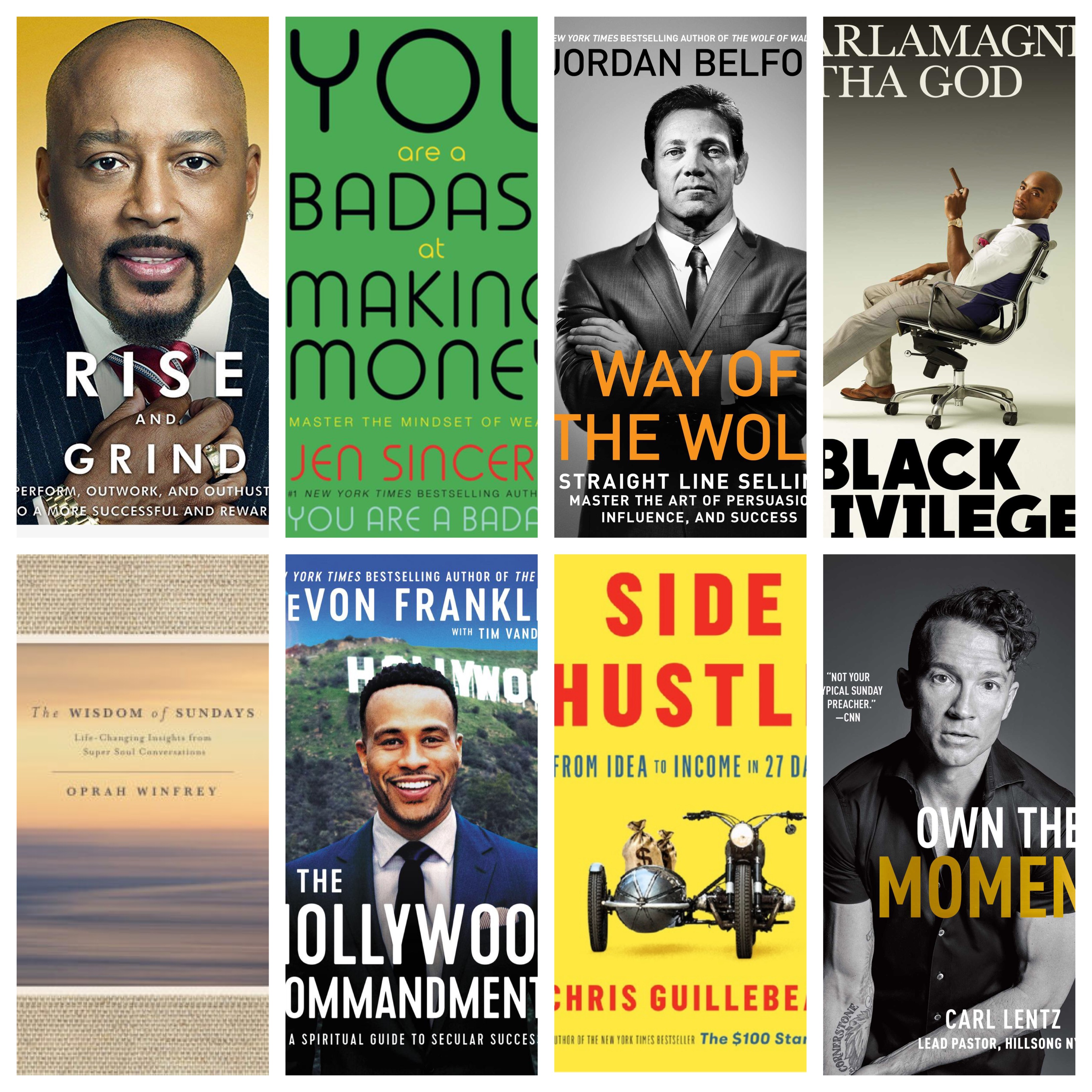 8 Of My Favorite Audiobooks to Increase Productivity, Perspective and Inspire you All Year Long!
