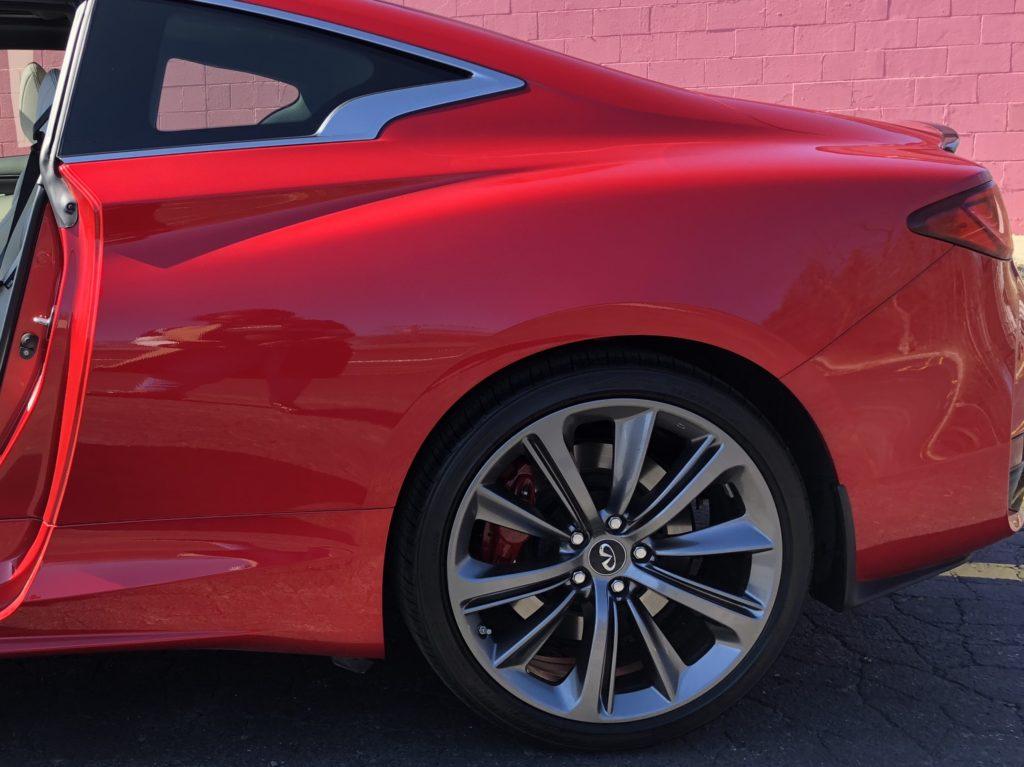 2018 Infiniti Q60 Red Sport 400 6