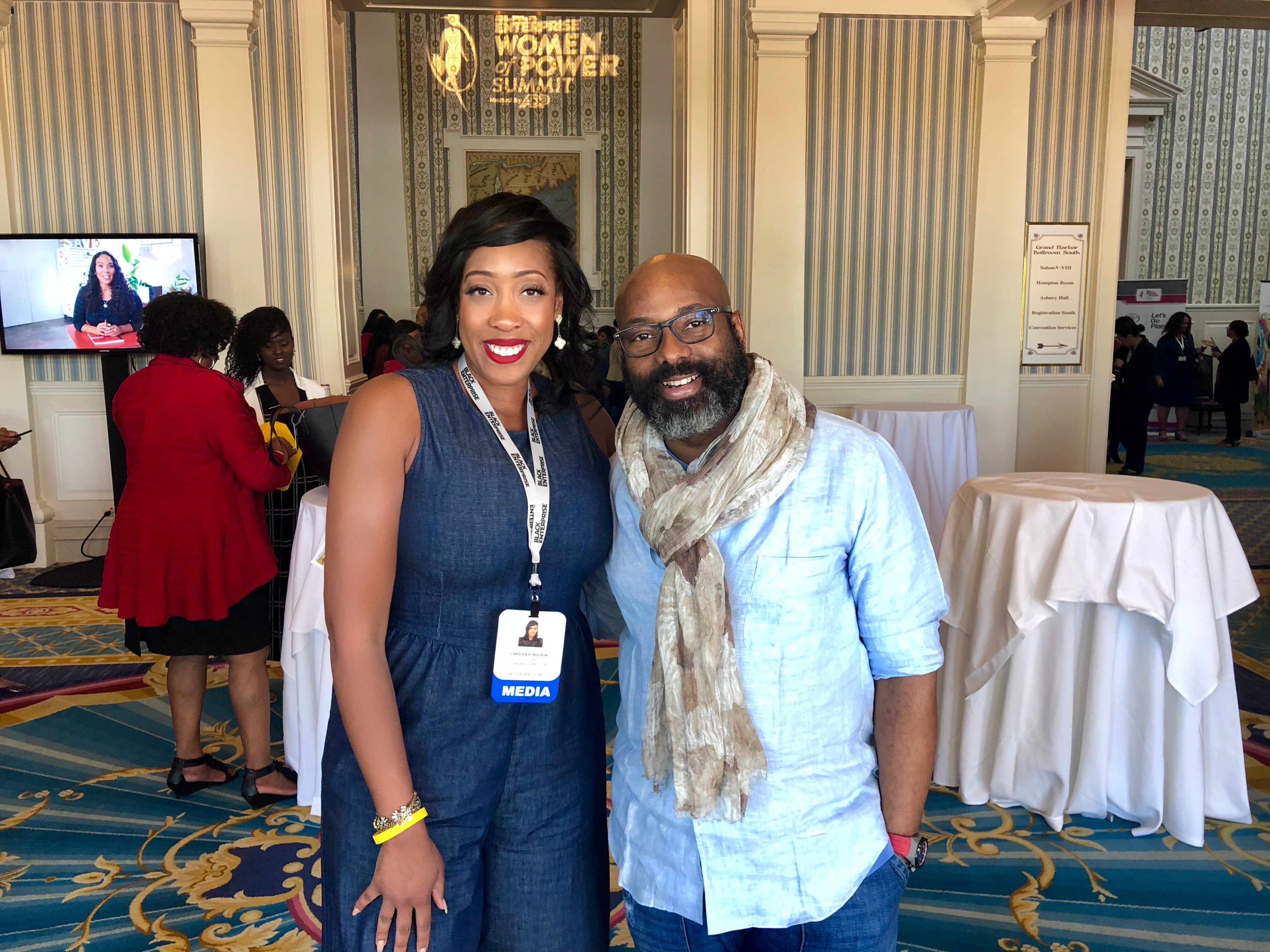 Richelieu Dennis Shares His Most Important Piece of Advice for Black Women In Business + Five Gems From Black Enterprise Women Of Power Summit Every Entrepreneur Needs!