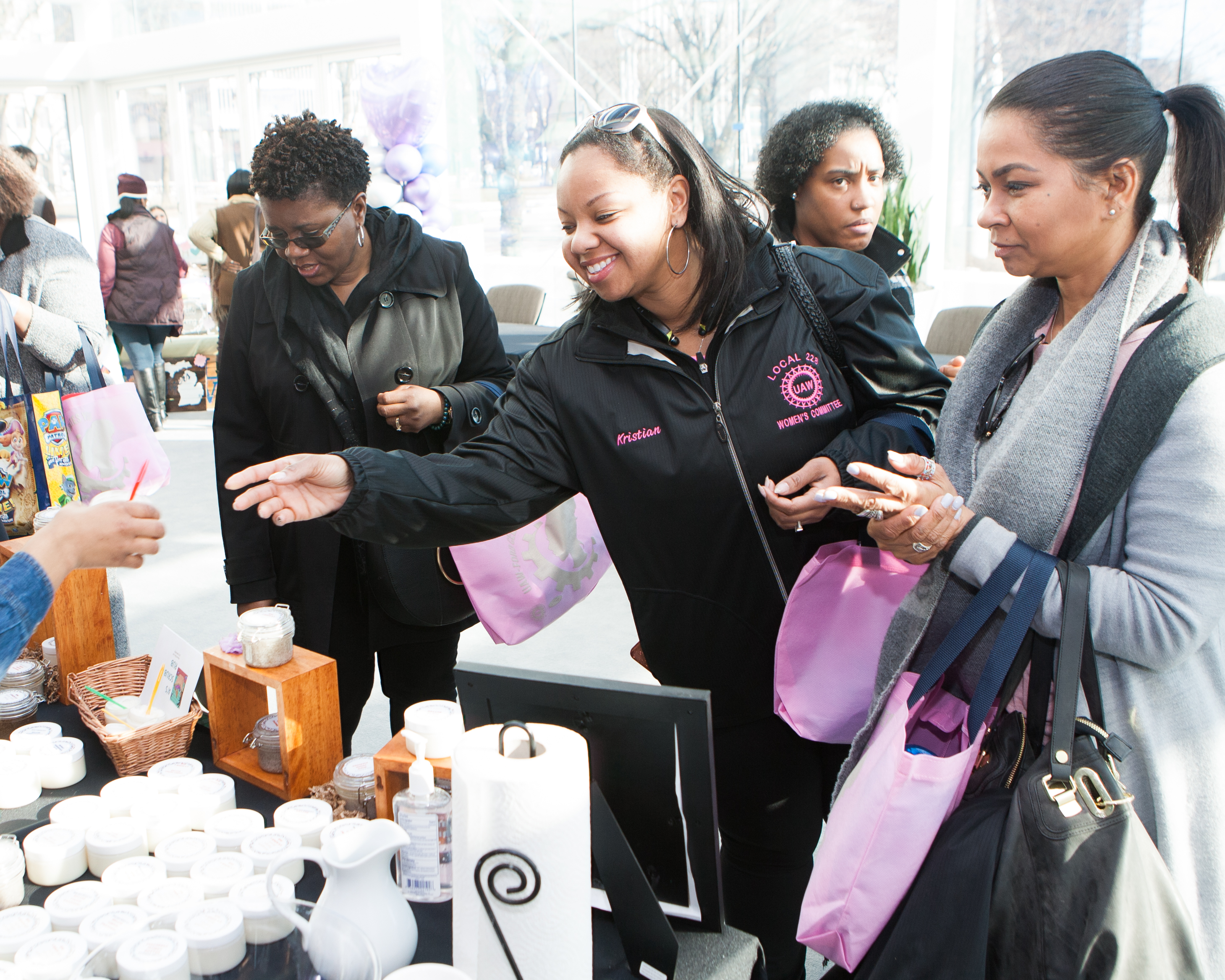 UAW-Ford Celebrates Women's History Month With Women's Empowerment Expo