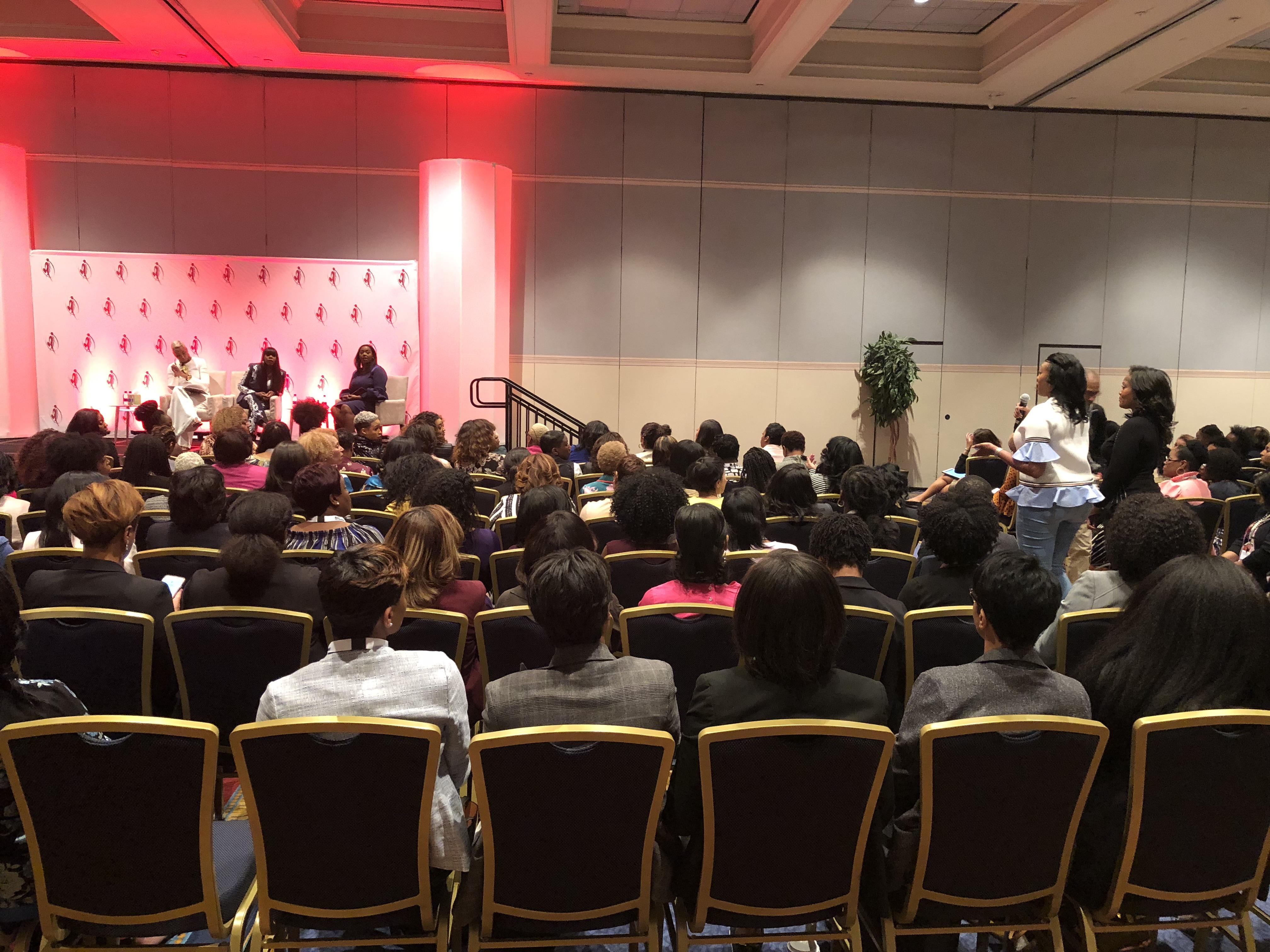 Celebrating Women's History Month at 2018 Black Enterprise Women Of Power Summit