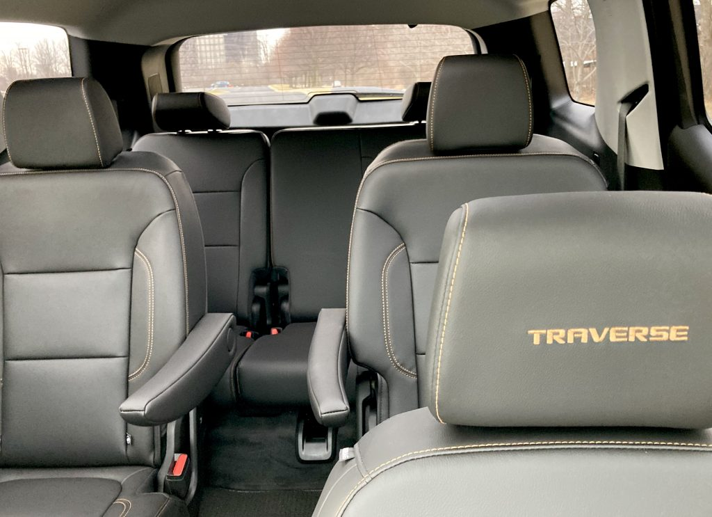 2021 Chevrolet Traverse RS Edition interior