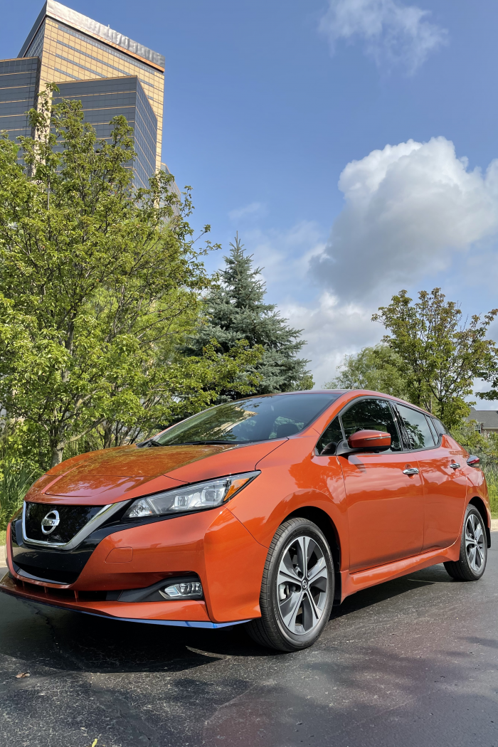 The 2021 Nissan Leaf Is A Stylish Leader In The Lane of Sustainable Driving #HybridSummer